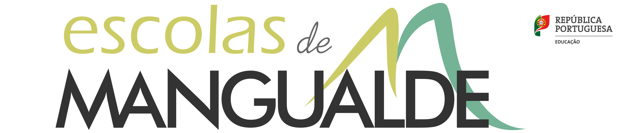 Logotipo das Escolas de Mangualde