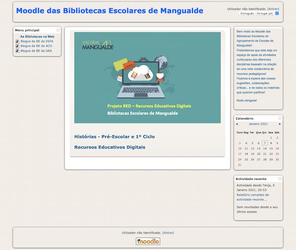 Catálogo Coletivo das Bibliotecas do Agrupamento