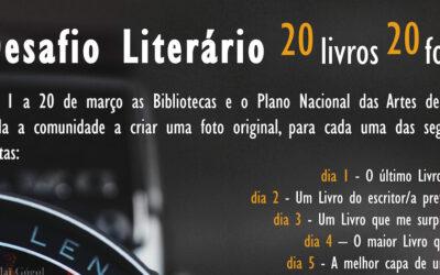 Desafio Literário 20 livros, 20 fotos