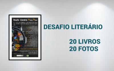 Desafio 20 livros 20 fotos – Exposição