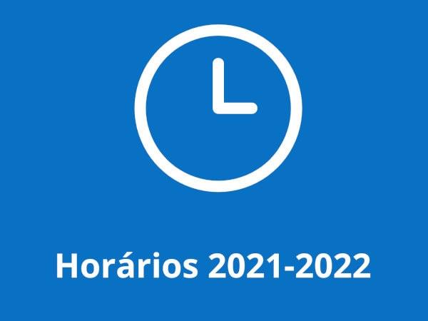 Horários 2021-2022
